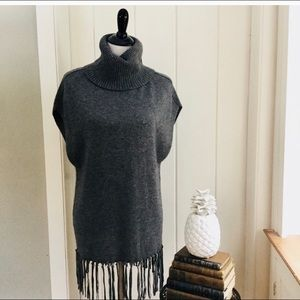 NWT Autumn Cashmere poncho sweater